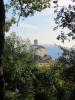 Früher war er spitz - jetzt rund. Der charmante Kirchturm von Poggio di Venaco. (Foto: katarina , Poggio-di-Venaco, Korsika, Frankreich am 26.09.2011) [2502]