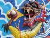 Drache auf dem Sockel des Tua Pek Kong Temple (Foto: chari , Kuching, Sarawak, Malaysia am 27.12.2011) [2643]