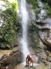 Wasserfall-Dusche im Dschungel (Foto: katarina , Santubong, Sarawak, Malaysia am 30.12.2011) [2675]