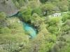 Blick zurück_hier kurz vor dem Bergdorf Vikos (Foto: katarina , Vikos-Schlucht, Epirus, Griechenland am 22.04.2011) [3566]
