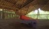 Yogahaus, Fußboden aus Bambus (Foto: chari , Gili Meno, Lombok, Indonesien am 13.12.2014) [4357]