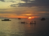 Sunset-Stimmung auf Gili Air (Foto: katarina , Gili Air, Lombok, Indonesien am 23.12.2014) [4385]