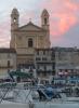 Église Saint Jean Baptiste bei Sonnenuntergang (Foto: chari , Bastia, Korsika, Frankreich am 08.06.2013) [3813]