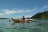 mit dem Kanu in der Lagune (Foto: chari , Pulau Cubadak, Sumatra, Indonesien am 06.05.2015) [4453]