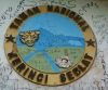 Logo am Eingang zum Nationalpark (Foto: chari , Kerinci Seblat National Park, Sumatra, Indonesien am 01.05.2015) [4457]