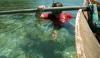 Schnorcheln mit Begleitkanu (Foto: chari , Pulau Cubadak, Sumatra, Indonesien am 06.05.2015) [4601]