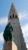 Leif Eriksson-Denkmal vor der Hallgrímskirkja (Foto: Martina Holm , Reykjavík, Höfuðborgarsvæðið, Island am 13.06.2016) [4744]