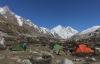 Zeiltlager bei Bhojvasa (Foto: chari , Gangotri National Park, Uttarakhand, Indien am 06.05.2019) [5160]