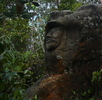 Skulptur am Gipfel (Foto: katarina , Gunung Santubong, Sarawak, Malaysia am 07.12.2009) [124]