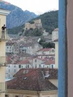 Blick aus dem naturaMUNDO-Hotel in Corte (Foto: katarina , Corte, Korsika, Frankreich am 15.06.2011) [2280]