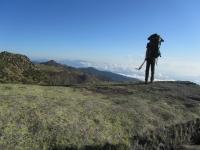 Blick zurück von der Punta Capella zum Hochplateau, wo die Refuge de Prati steht (Foto: katarina , Alta Rocca, Korsika, Frankreich am 31.08.2011) [2390]
