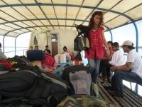 Auf Deck von Sibu nach Kuching (Foto: chari , Kuching, Sarawak, Malaysia am 23.12.2011) [2632]