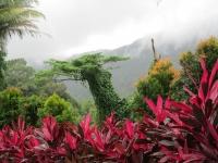 Der Santubong im Nebel (Foto: katarina , Santubong, Sarawak, Malaysia am 26.12.2011) [2637]