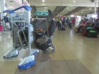 Gepäck ist bereit - LCCT (Foto: chari , Kuala Lumpur International Airport, Selangor, Malaysia am 17.01.2014) [4111]