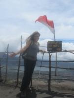 am Batur-Kraterrand (Foto: chari , Gunung Batur, Bali, Indonesien am 09.12.2014) [4329]