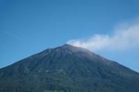 Blick auf den Vulkan aus südlicher Richtung (Foto: chari , Gunung Kerinci, Sumatra, Indonesien am 04.05.2015) [4604]
