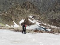 gefrorener Bergsee Rinosu kurz vorm Bocca Muzzella (Foto: katarina , Corte, Korsika, Frankreich am 25.05.2016) [4662]