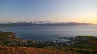 Blick auf die Berge (Foto: Martina Holm , Húsavík, Norðurland eystra, Island am 22.06.2016) [4751]