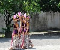 Ramayana - Tänzerinnen im Kraton (Sultans-Palast) (Foto: katarina , Yogyakarta, Java, Indonesien am 18.12.2016) [4812]
