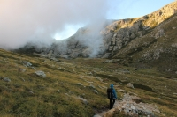 Abstieg zu den Pozzis (Foto: chari , Bergeries de Pozzi, Korsika, Frankreich am 26.09.2019) [5288]