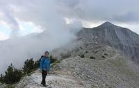 Laimos, Grat Richtung Kakkalos-Hütte (Foto: chari , Olympmassiv, Zentralmakedonien, Griechenland am 03.07.2021) [5416]
